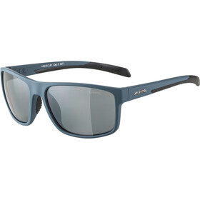Alpina Nacan I Okulary, dirt blue matt/black mirror